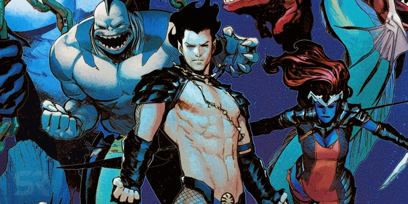 Namor Comic Team Defenders Deep